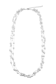 Riah Fashion Faux Pearl Necklace - Product Mini Image