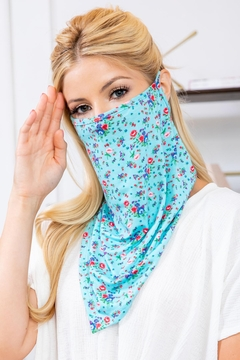 Shoptiques Product: Floral Bandana Mask