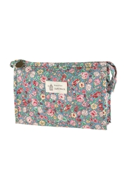 Riah Fashion Floral Cosmetic Bag - Product Mini Image