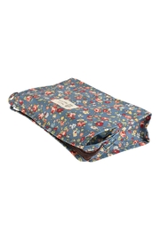 Riah Fashion Floral Cosmetic Bag - Front full body