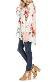 Riah Fashion Floral Tunic Top - Other