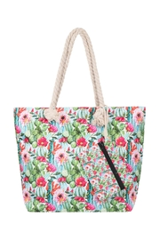 Riah Fashion Floral-Digital-Printed-Tote-Bag-W/-Matching-Wallet - Product Mini Image
