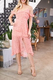 Riah Fashion Floral-Dress - Front cropped