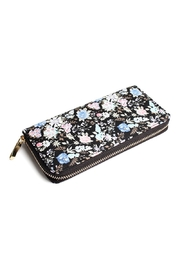 Riah Fashion Floral Fashion Zipper Wallet - Product Mini Image
