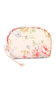 Riah Fashion Pink Petite Cosmetics Bag - Product Mini Image