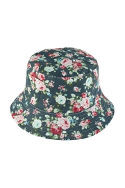 Riah Fashion Floral Print Double-Side-Wear Reversible Bucket Hat - Product Mini Image
