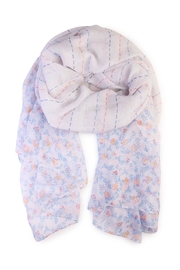 Riah Fashion Floral Print Scarf - Product Mini Image