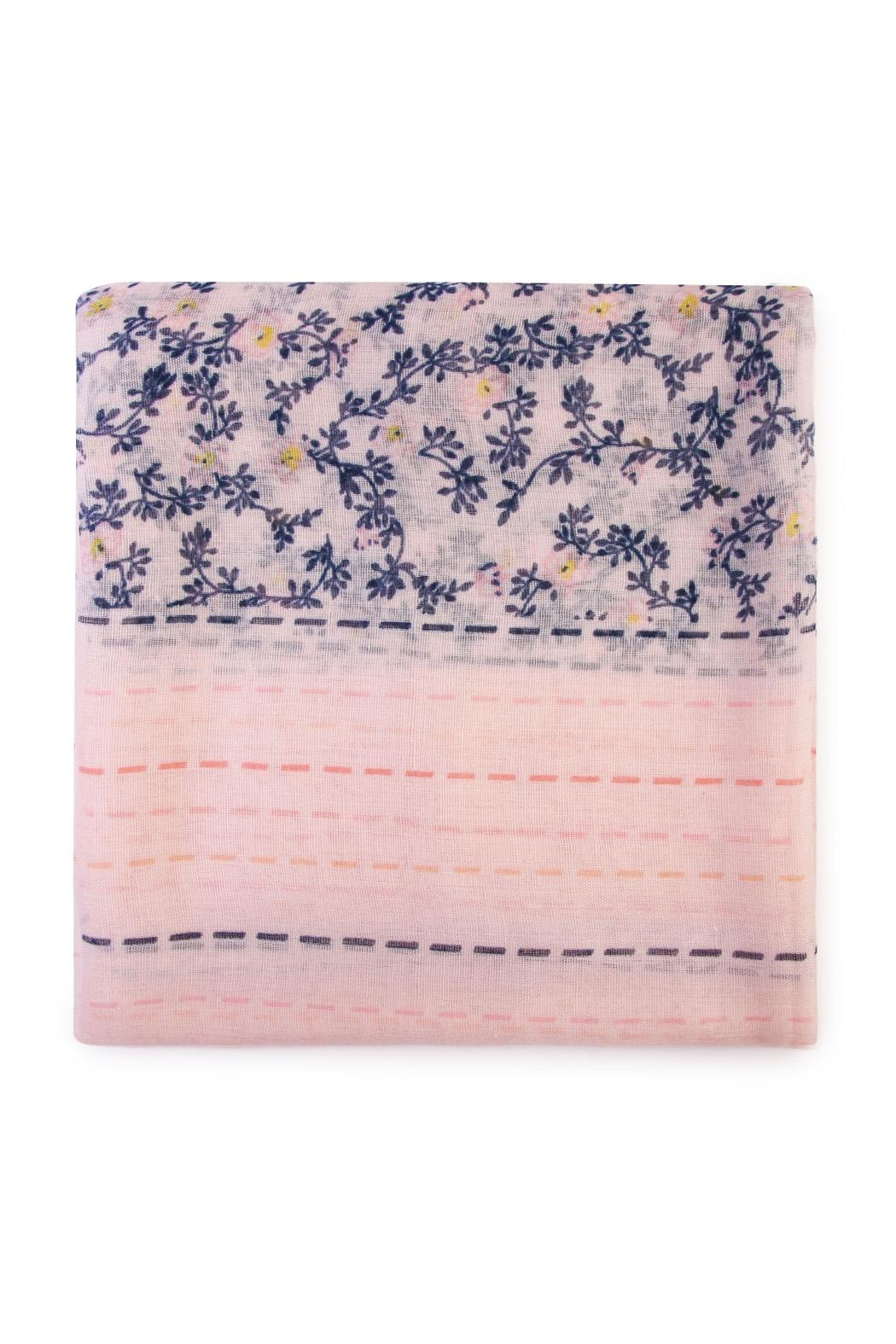 Riah Fashion Floral Print Scarf - Front Full Image