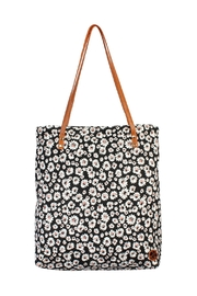 Riah Fashion Floral Print Tote-Bag - Product Mini Image