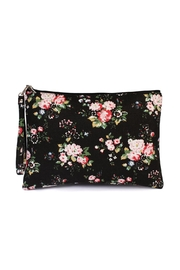 Riah Fashion Floral-Print Wristlet Cosmetic-Bag - Product Mini Image