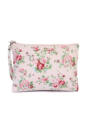 Riah Fashion Floral-Print Wristlet Cosmetic-Bag - Front cropped