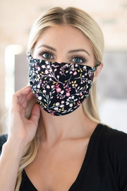 Riah Fashion Floral Reusable Face Masks For Adults - Product Mini Image