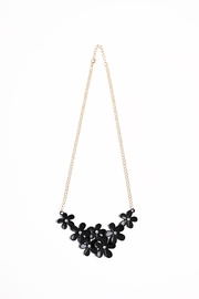 Riah Fashion Flower Chain Necklace - Product Mini Image
