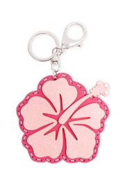 Riah Fashion Flower Coin Purse Keychain - Front cropped