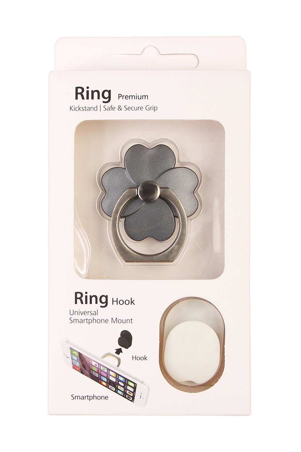 Riah Fashion Flower Phone Holder - Front Cropped Image