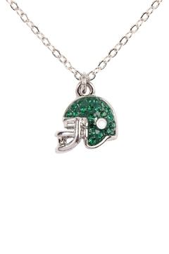 Riah Fashion Football Helmet Epoxy Necklace - Product List Image