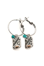 Riah Fashion Forever Hoop Earrings - Product Mini Image