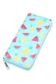 Riah Fashion Fruits Print Zipper-Wallet - Product Mini Image
