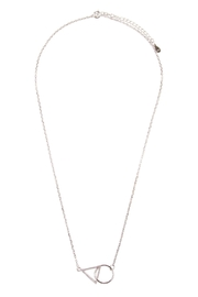 Riah Fashion Geometric Pendant Necklace - Product Mini Image