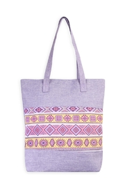 Riah Fashion Geometric Shape Tote - Product Mini Image
