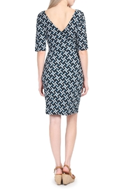 Riah Fashion Geometrical Pattern Dress - Other