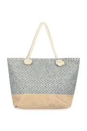 Riah Fashion Geometrical Pattern Tote Bag - Product Mini Image