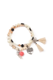 Riah Fashion Girl Charm  Bracelets - Product Mini Image