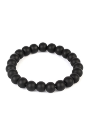 Riah Fashion Glass Bead Bracelet - Product Mini Image