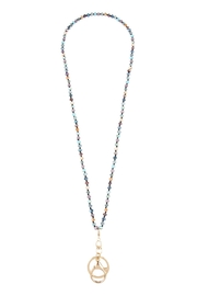 Riah Fashion Glass-Beads Lanyard-Necklace - Product Mini Image