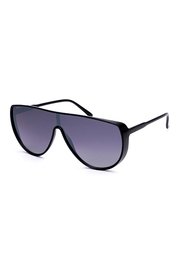 Riah Fashion Goggle Framed Sunglasses - Front cropped