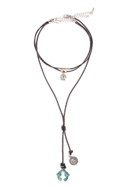 Riah Fashion Gun Shell  Choker Necklace - Product Mini Image