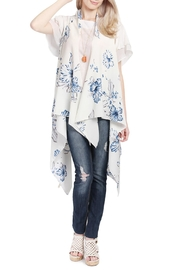 Riah Fashion Handkerchief Floral Vest - Product Mini Image