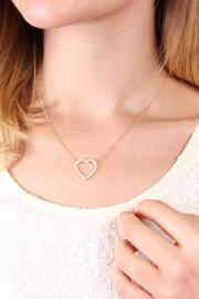 Riah Fashion Heart Pendant Necklace - Other
