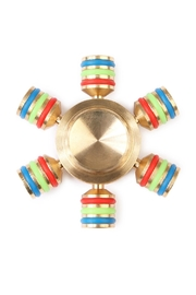 Riah Fashion Hexagonal Anti Stress Spinner - Product Mini Image