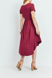 Riah Fashion High-Low-Empire-Pocket-Dress - Other