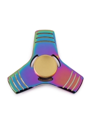 Riah Fashion Holographic Anti Stress Spinner - Product Mini Image