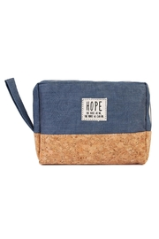 Riah Fashion Hope Cosmetic Pouch - Front cropped