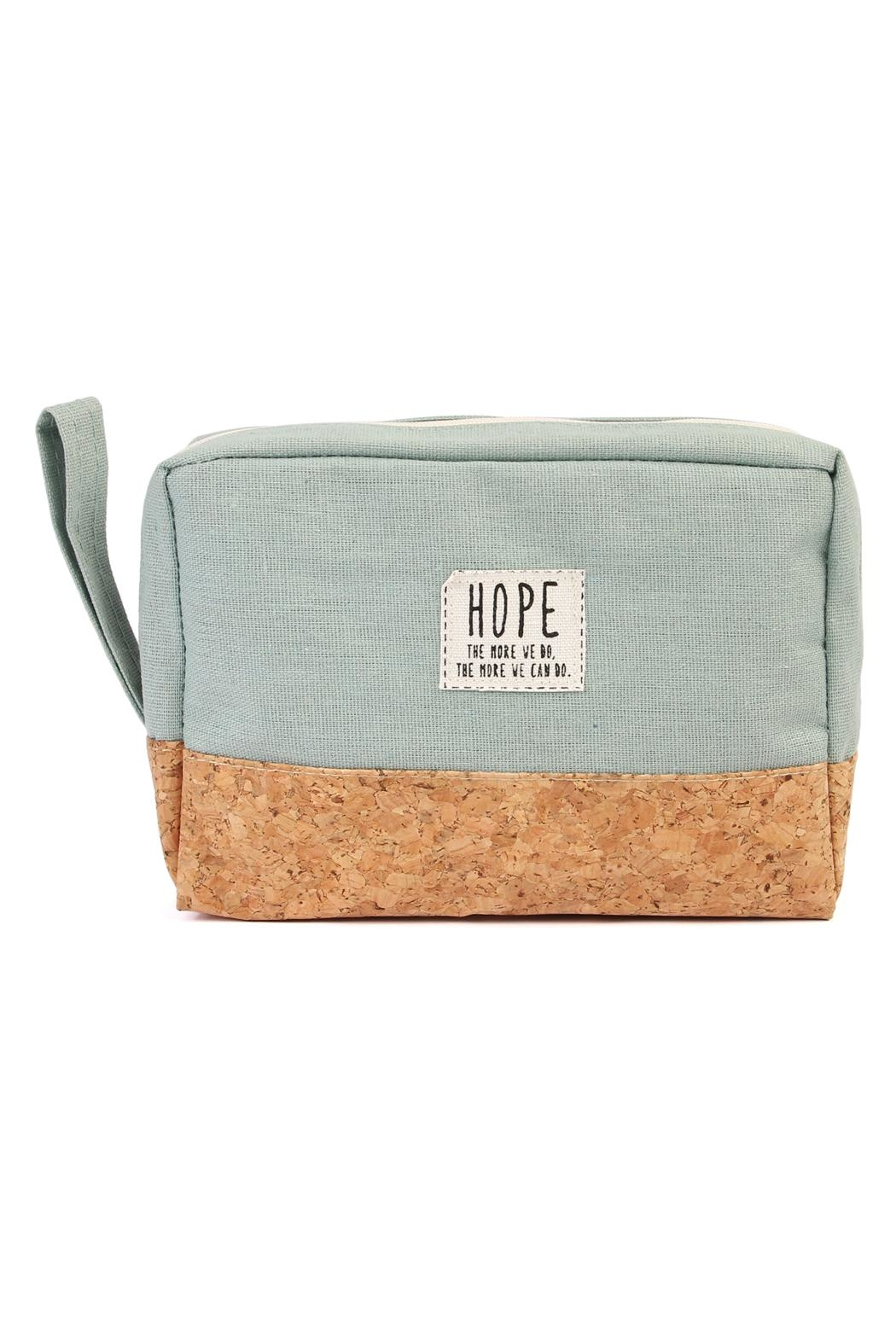 Riah Fashion Hope Cosmetic Pouch - Front Cropped Image