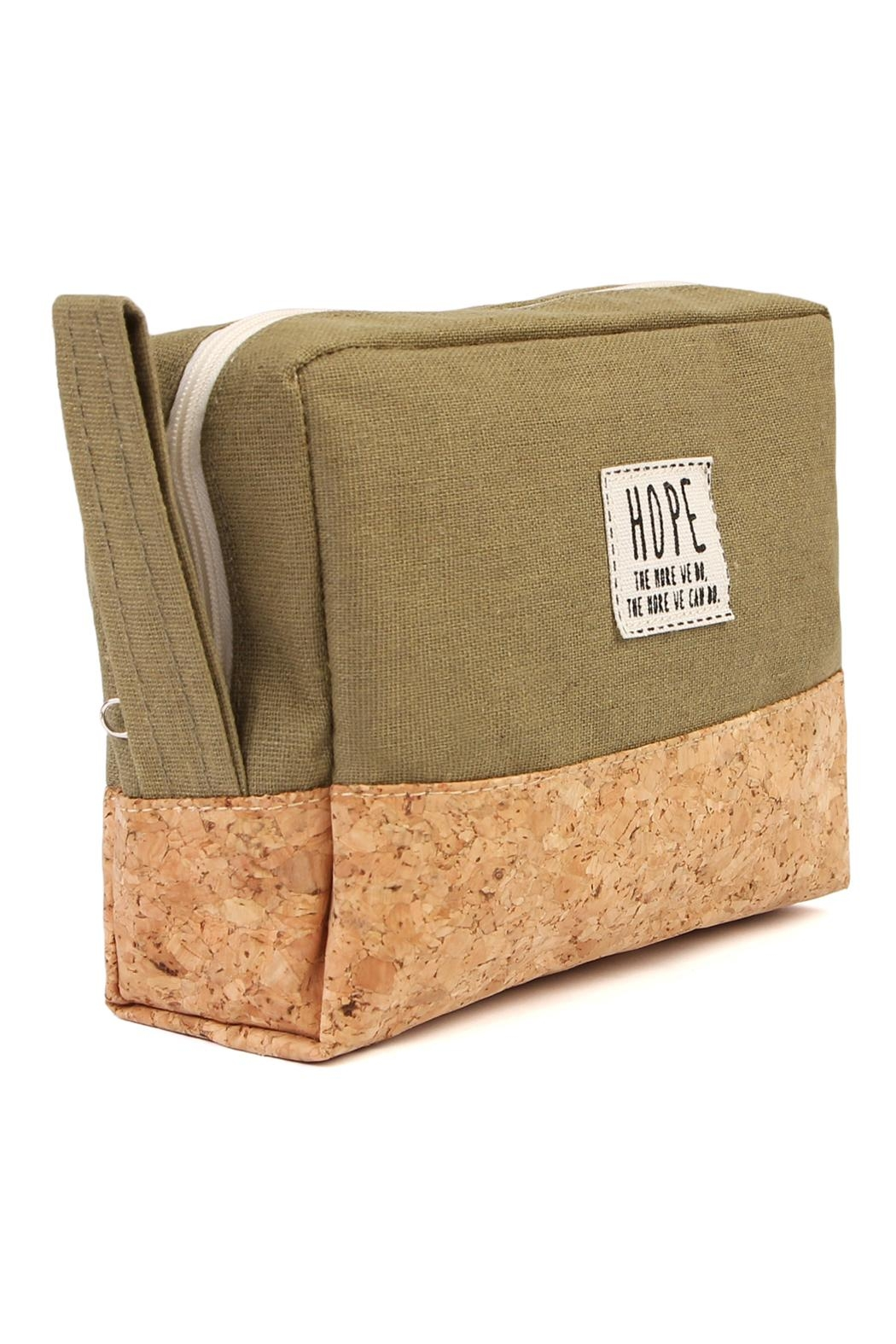 Riah Fashion Hope Cosmetic Pouch - Front Full Image