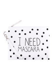 Riah Fashion I Need Mascara Cosmetic Pouch - Product Mini Image
