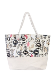 Riah Fashion I Love Paris Tote - Product Mini Image