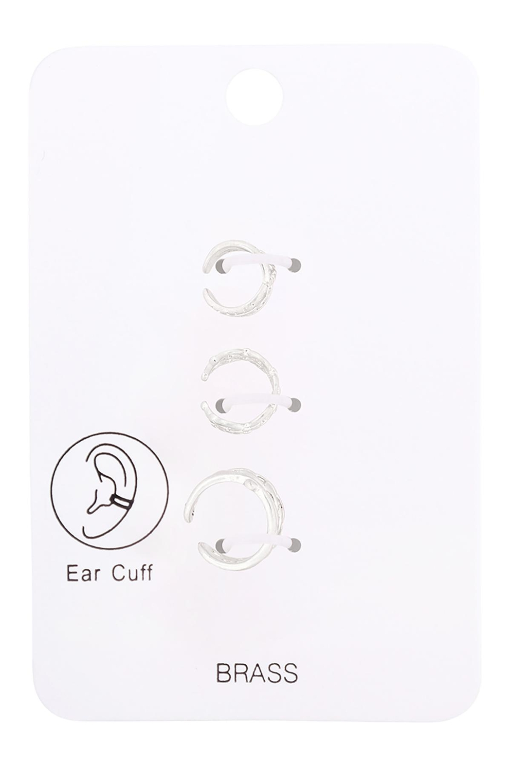 Riah Fashion Infinity-Chain-No-Piercing-Ear-Cuffs-Set - Front Cropped Image