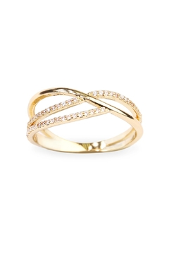 Riah Fashion Infinity-Wave Closed Ring - Product List Image