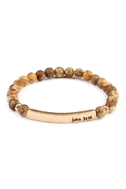 Riah Fashion John 3:16 Bar-Bracelet - Product Mini Image