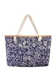 Riah Fashion Jumbo Paisley Tote - Product Mini Image