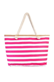 Riah Fashion Jumbo Stripe Tote - Product Mini Image