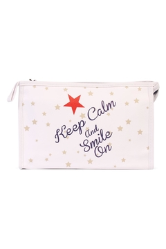 Shoptiques Product: Keep Calm Cosmetic Bag