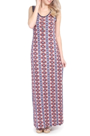 Riah Fashion Tribal Maxi Dress - Product Mini Image