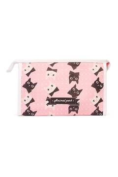 Shoptiques Product: Kittens Cosmetic Bag