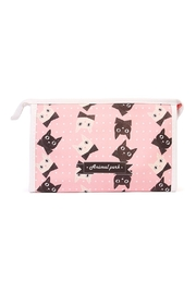 Riah Fashion Kittens Cosmetic Bag - Product Mini Image